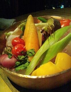 有機野菜のヒマラヤ岩塩蒸し