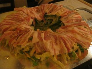 白金豚のヘルシー鍋