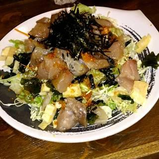 海鮮ぶつとわかめのサラダ