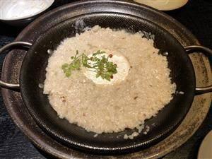 焼きカマンベールのWチーズリゾット~トリュフの香り~