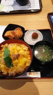 親子丼(名古屋コーチン、唐揚げセット)