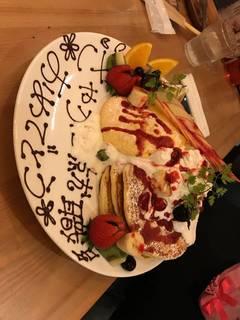 サプライズパンケーキ