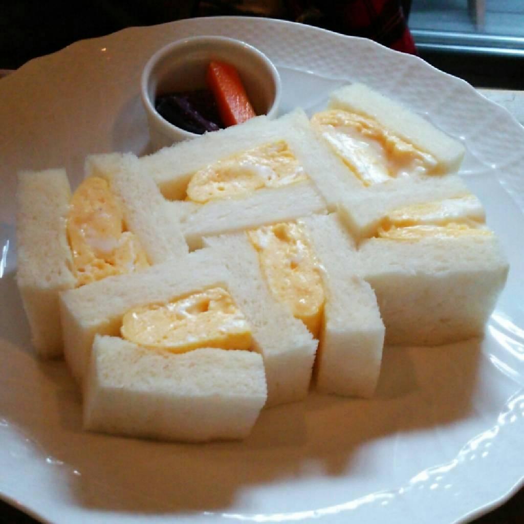ふわふわたまごのサンドイッチ