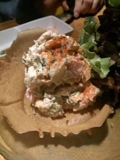 ツナとハムの特製ポテトサラダ
