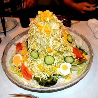 バカ盛野菜サラダ