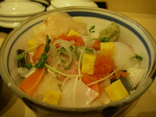 海鮮あられ丼