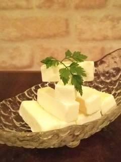 自慢のクリームチーズ