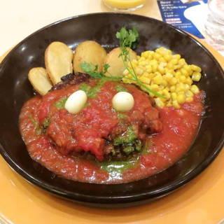 タスマニアビーフ ハンバーグ(イタリアントマトソース)