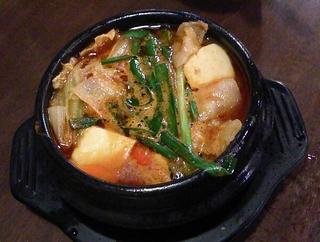 スンブゥドチゲ鍋