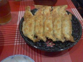 野菜焼き餃子