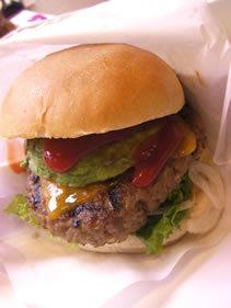 ハンバーガー プレート