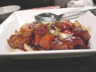 中国黒酢仕立て 酢豚