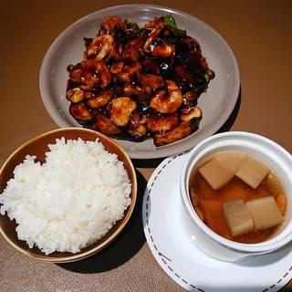 海老と茄子の黒酢炒めセット