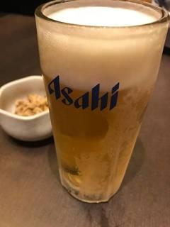 アサヒスーパードライ(中生)