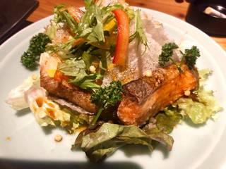 季節魚の竜田揚げ
