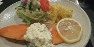 サケのバター焼定食