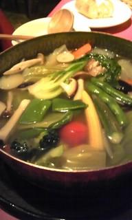 ココット煮こみの温野菜