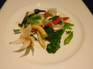 野菜のエチュベ