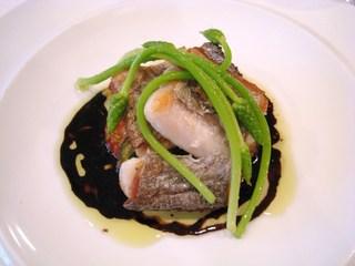 太刀魚のポワレ バルサミコソース