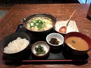 ランチ(野菜たっぷり牛すじ煮込み定食)