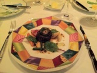 牛フィレ肉のステーキ