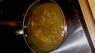 煮込みポークカレー