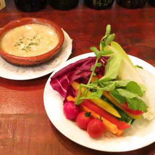 野菜たっぷり!バーニャカウダ