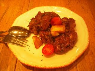 若鶏のフリットバルサミコ酢