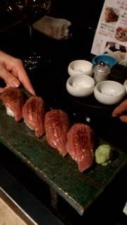 牛トロ寿司