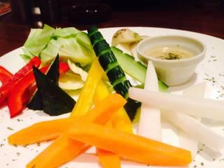 秋野菜のバーニャカウダ