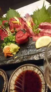 選べるメインに馬刺しや魚のお造りもついた8品「弐」