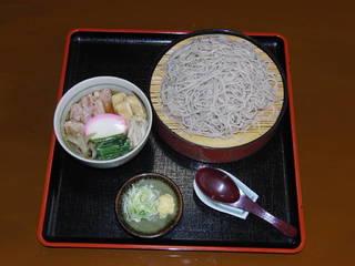 鴨つけ麺(そば・うどん)