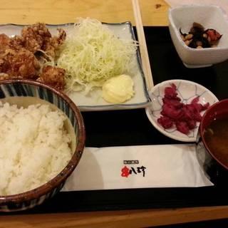 鶏唐揚げA定食