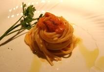 ウニのスパゲッティ