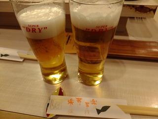 スーパードライ生ビール
