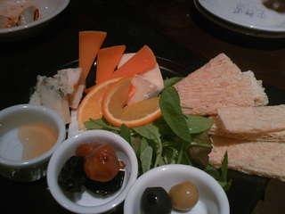 チーズ盛りあわせ