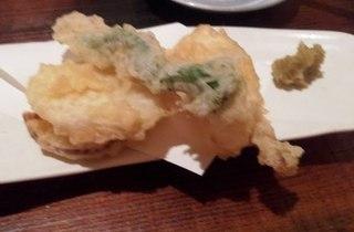 イカと野菜の天ぷら