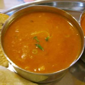 インド豆カレー