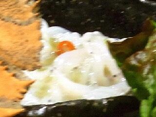白魚のわさび漬け