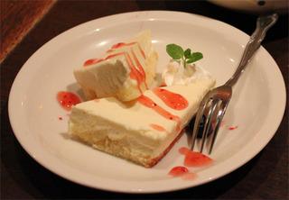 豆富チーズケーキ