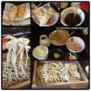 天ざる 牡蠣