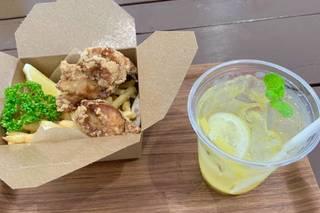 チキン&パルメザンチップス(唐揚げ&フライドポテト)