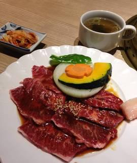 牛サガリ定食