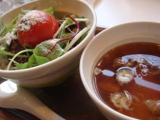 丸ごとトマトの肉味噌丼