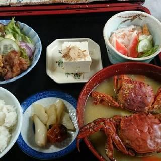 山太郎蟹汁定食