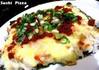SUSHI ピザ
