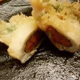雲丹の真鯛巻き天ぷら