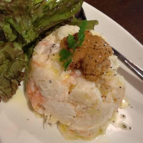 魚介のポテトサラダ