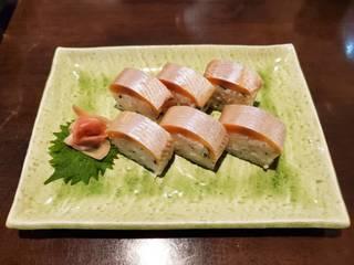 ヒメマス押し寿司
