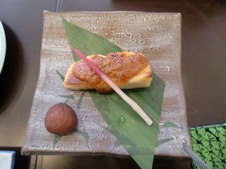 焼き魚のゆず味噌